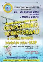 plakát DVOJPLOŠNÍKY 2013 m