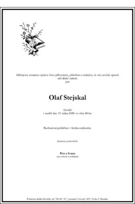 Parte - Olaf Stejskal